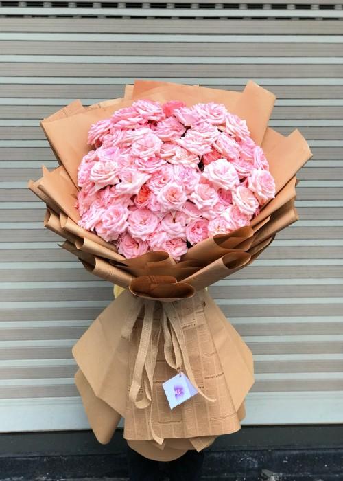 Bó hồng dễ thương