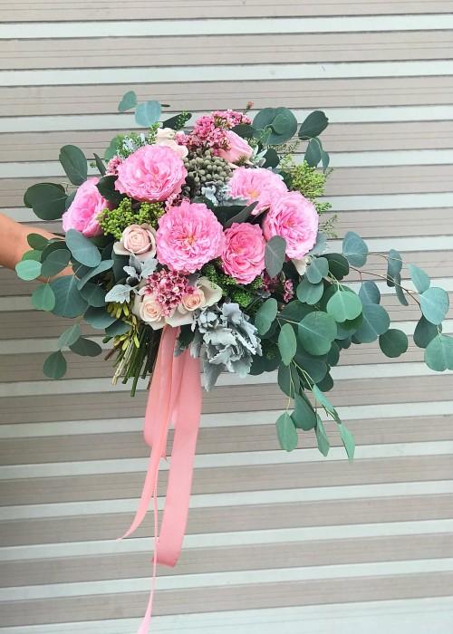 Hoa cầm tay cô dâu 7