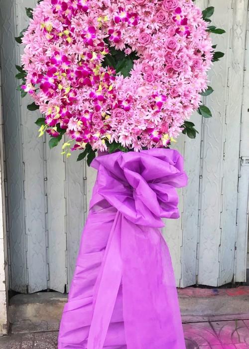 Vòng hoa tang tím